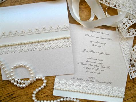 Handmade Wedding Stationary - pearl wedding accessories handmade etsy wedding finds
