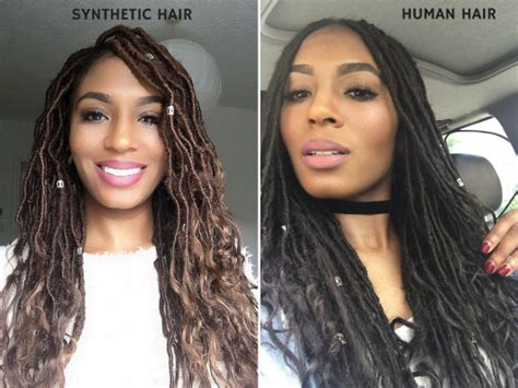 can i use human hair for faux locs how long do faux locs take hairstylegalleries com