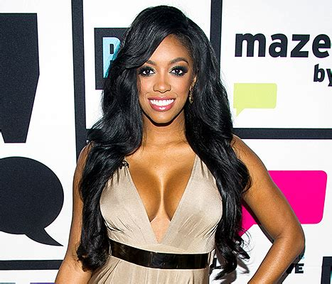 what type of hair does porcsha williams wear porsha williams reveals her real hair on instagram photos