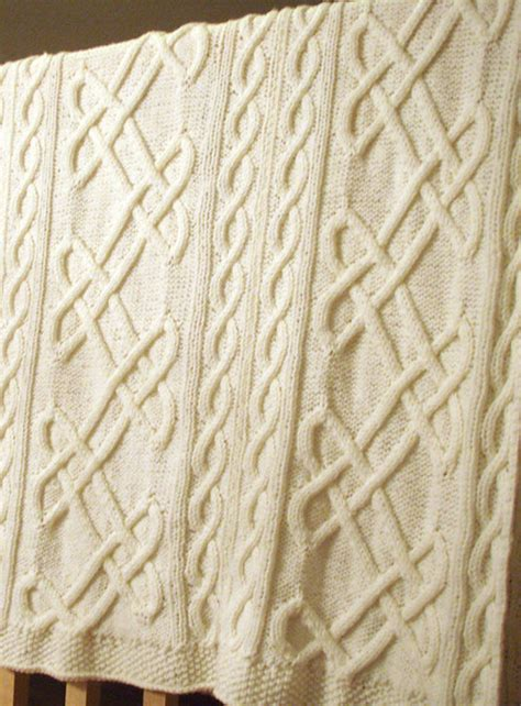 Knots Knitting On The Square - celtic knot crochet afghan pattern dancox for