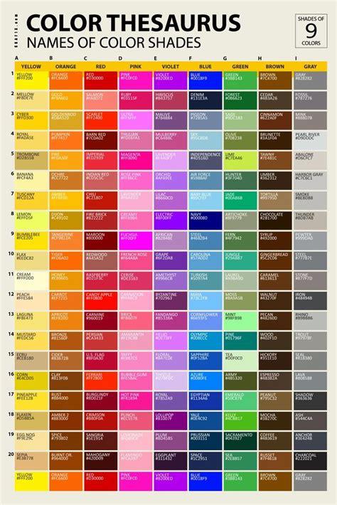 rgb color list 7 best color names images on color names