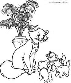 aristocats coloring pages calendar template