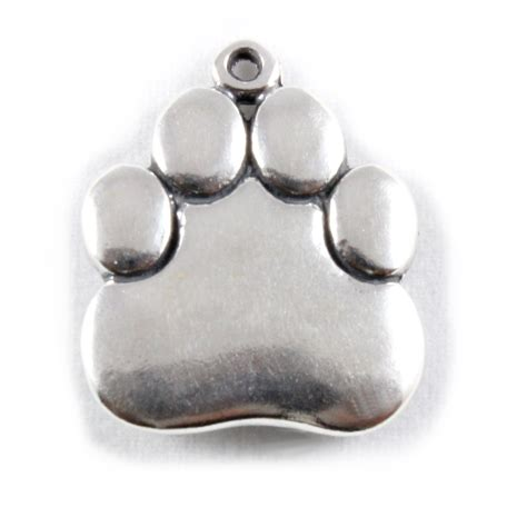 charm school uk gt sterling silver charms gt dogs gt paw