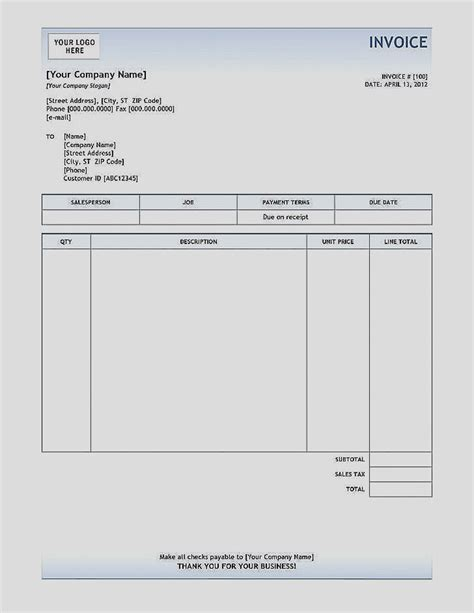 1099 invoice template 50 best of 1099 invoice template free for service business
