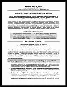 Sample Resume For Program Manager examples senior program manager resume examples program manager