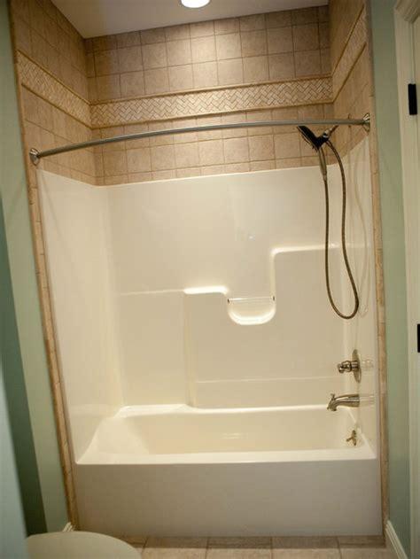 fiberglass tub shower ideas pictures remodel  decor