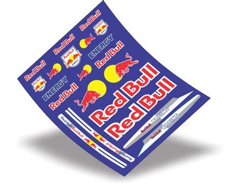 Fahrrad Aufkleber Red Bull by Stickers Design Adesivo Bike Red Bull