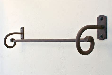 wrought iron bathroom towel bars wrought iron towel bars and bath hardware paso robles