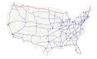 map of eastern us highways u s route 2 wikiwand