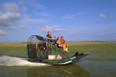 fan boat everglades national park everglades airboat adventure tour with transportation