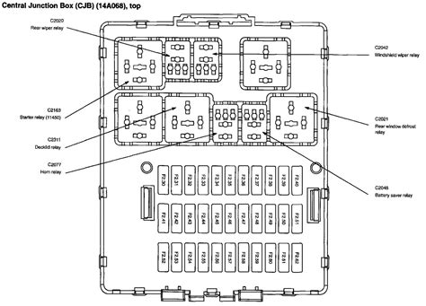 2005 focus fuse box diagram need to where the fuse is located for a 2005 ford