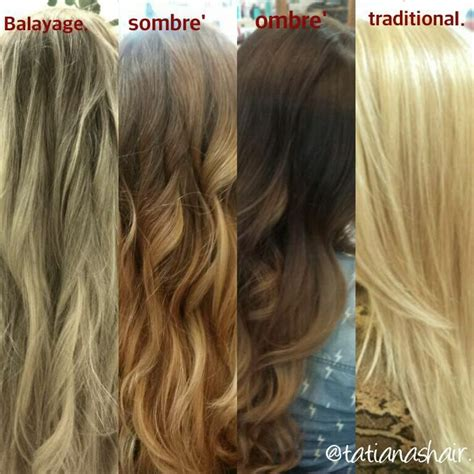 balayage vs flamboyage vs ombre vs sombre vs foiling 7 best baldy age ombr 233 sombre images on pinterest hair