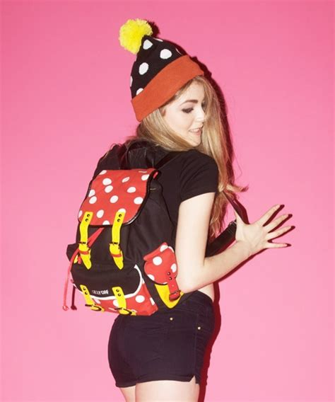 Robot Pin From Lazy Oaf by Lazy Oaf Clown Rucksack Backpack Lazy Oaf