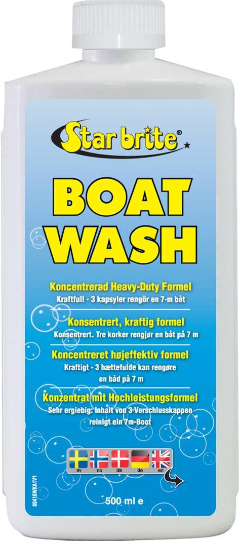 thetford marine boat wash starbrite boat wash cleaner k 248 ge