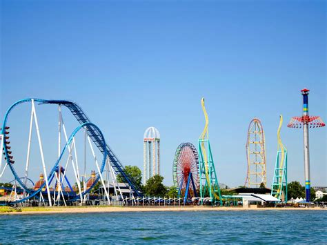 cedar point images top 10 amusement parks fans favorite theme parks