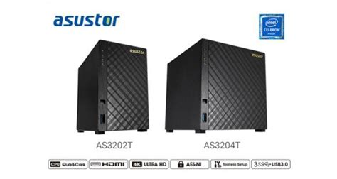 Asustor As3204t 4 Bay Nas Server External Storage Asustor As3204t Four Bay Consumer Nas Review
