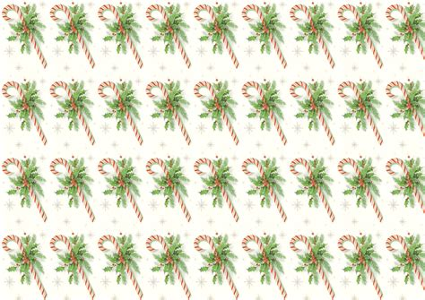 printable christmas wrapping paper a3 retro candy cane seamless tile and printable papers
