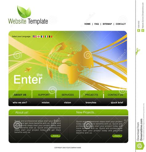 website templates for export business website template stock photography image 15951632