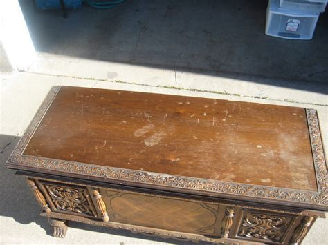 Antique Cedar Chest   In Our Spare Time