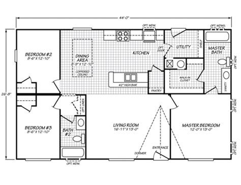 waverly crest 40703w fleetwood homes manufactured homes for fleetwood homes floor plans new fleetwood waverly crest 28443w strictly manufactured