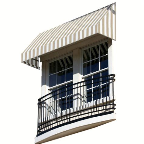 Awnings San Francisco by Awntech 6 Ft San Francisco Window Entry Awning 18 In H