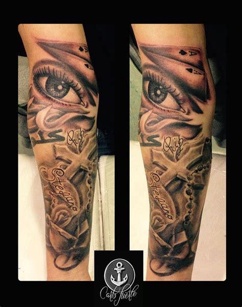 cross tattoo right eye realistic tatttoo tattoo eye tattoo idea religious