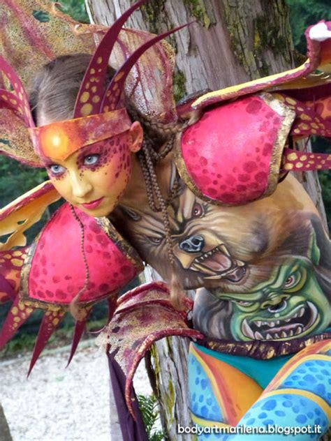 Italian Bodypainting Festival Paint Tattoos