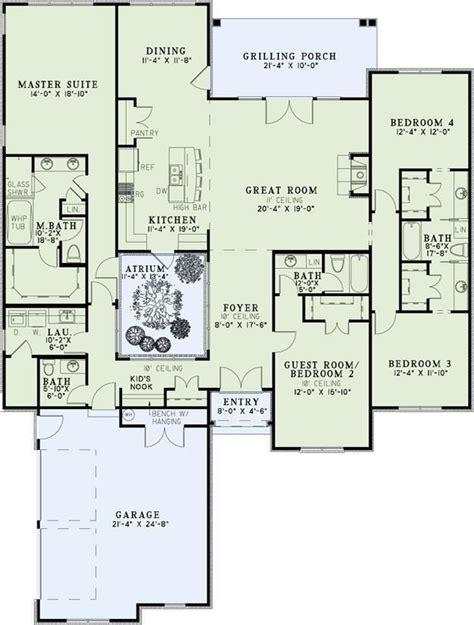 plan 110 00935 3 bedroom house plan 110 00845 european plan 2 611 square feet 4