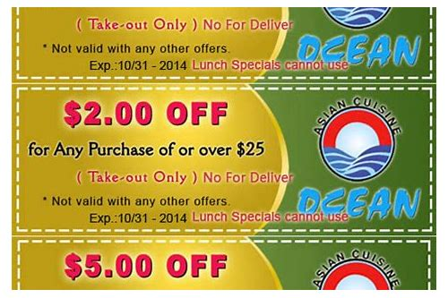 coupons for fortune restaurant