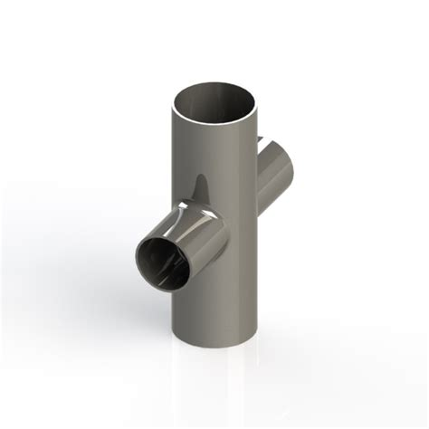 Vacuum Fitting Wall Fitting 1 5in Hitam buttweld 4 way reducing cross weld on 2 0 x 1 5 inch od vacuum fittings