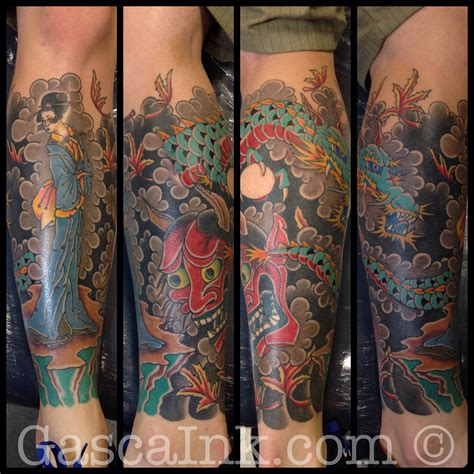 japanese tattoo leg sleeve japanese leg sleeve gascaink