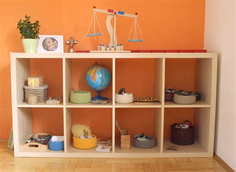 montessori bookshelves a peek inside miriam tomasz and samuel s montessori style