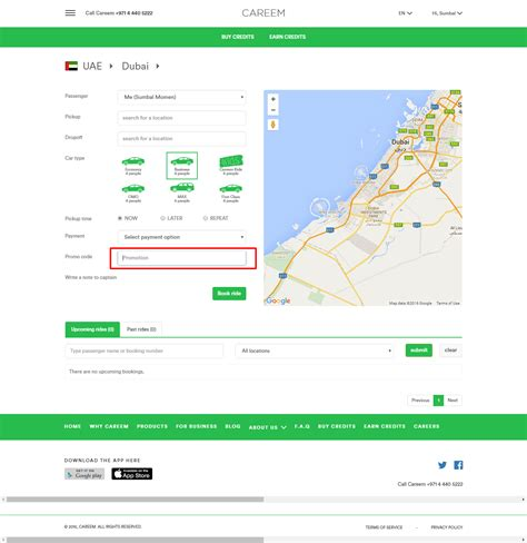 Car Types In Careem by Careem Promo Code How To Use Guide For 2018
