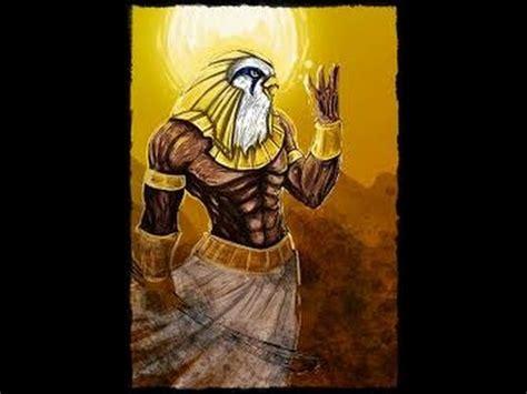 imagenes egipcias de ra horus dios egipcio youtube