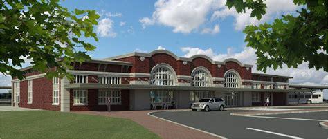 design center henrietta ny design build team selected for rochester s new intermodal