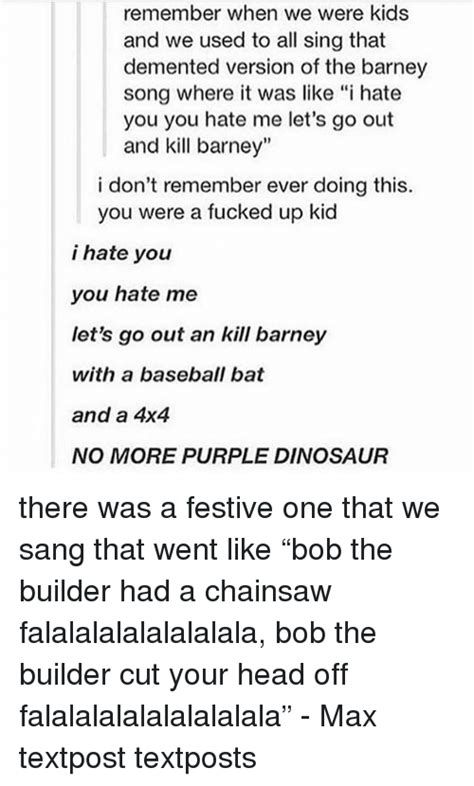 Will You Your Lbd For A Purple Version This Aw by 25 Best Memes About Barney Barney Memes