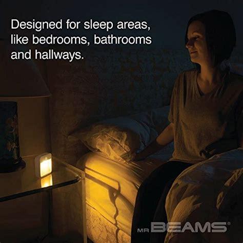 best color light for sleep mr beams sleep friendly battery powered motion sensing