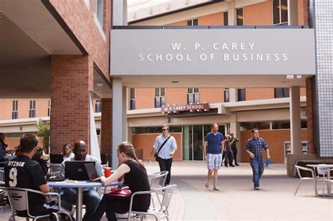 Carey School Of Business Mba Ranking asu u s school to this ft ranking