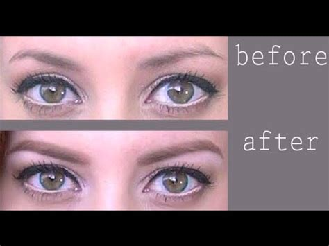 proper way to fill in eyebrows tips tricks filling in sparse tricky brows youtube