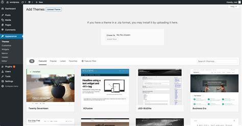 themes wordpress install charming wordpress themes upload contemporary exle