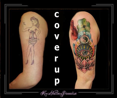 tattoo cover up yin yang yin yang tattoo and hamsa pictures to pin on pinterest