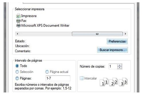 descargar microsoft xps document writer para windows 10