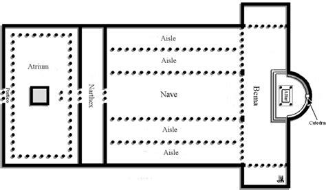 latin cross floor plan basilica the bible through artists eyes