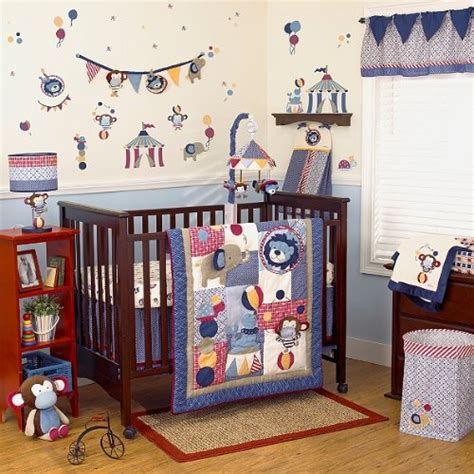 Circus Crib Bedding Set by Cocalo Circus Act Baby Bedding Collection Baby Bedding