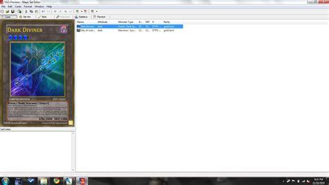 Magix Set Editor Custom Card Template by Screenshots Magic Set Editor