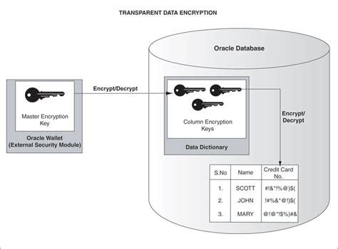 Alter Table Oracle Securing Stored Data Using Transparent Data Encryption