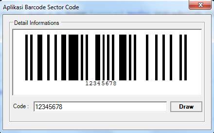 membuat barcode sederhana membuat barcode menggunakan vb net scode