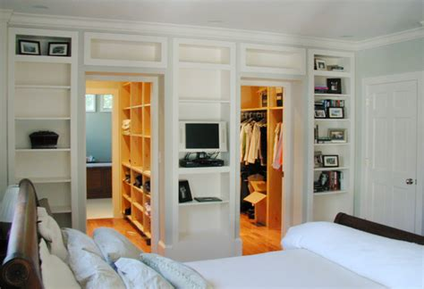 adding a walk in closet to a bedroom walk through closets