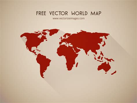 free world map vector free vector world map vectorize images vectorize images