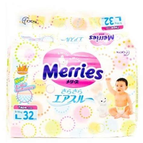 Merries Diapers L 32 merries premium diapers l32